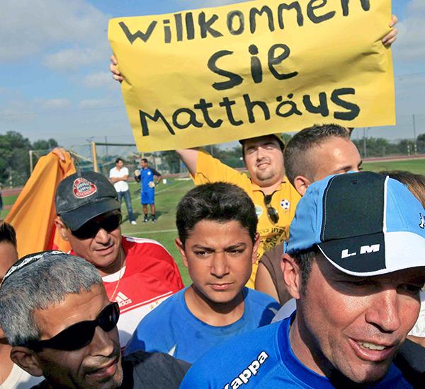 Dienstantritt des Trainers Lothar Matthäus bei Maccabi Netanya, 2008   © picture alliance / dpa, Pavel Wolberg