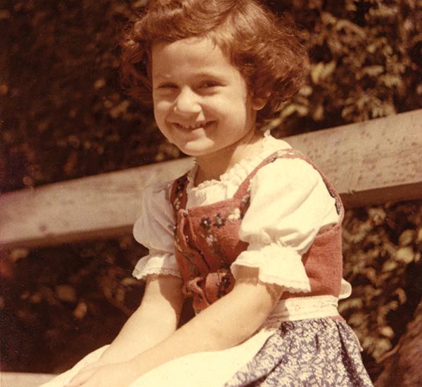 Ruthi Lamberg kurz nach ihrer Übersiedlung nach Israel, 1958   © Ruthi Ofek